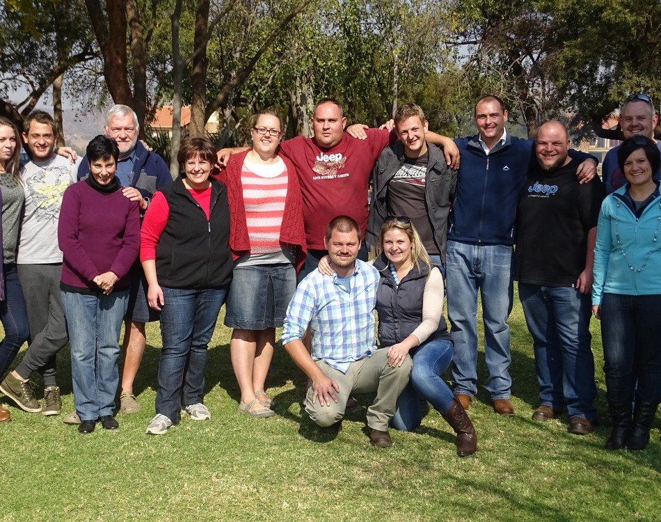 Team photo of Rijk Zwaan South Africa
